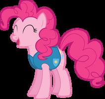 Winter Wrap Up - Pinkie Pie by Lexuzieel