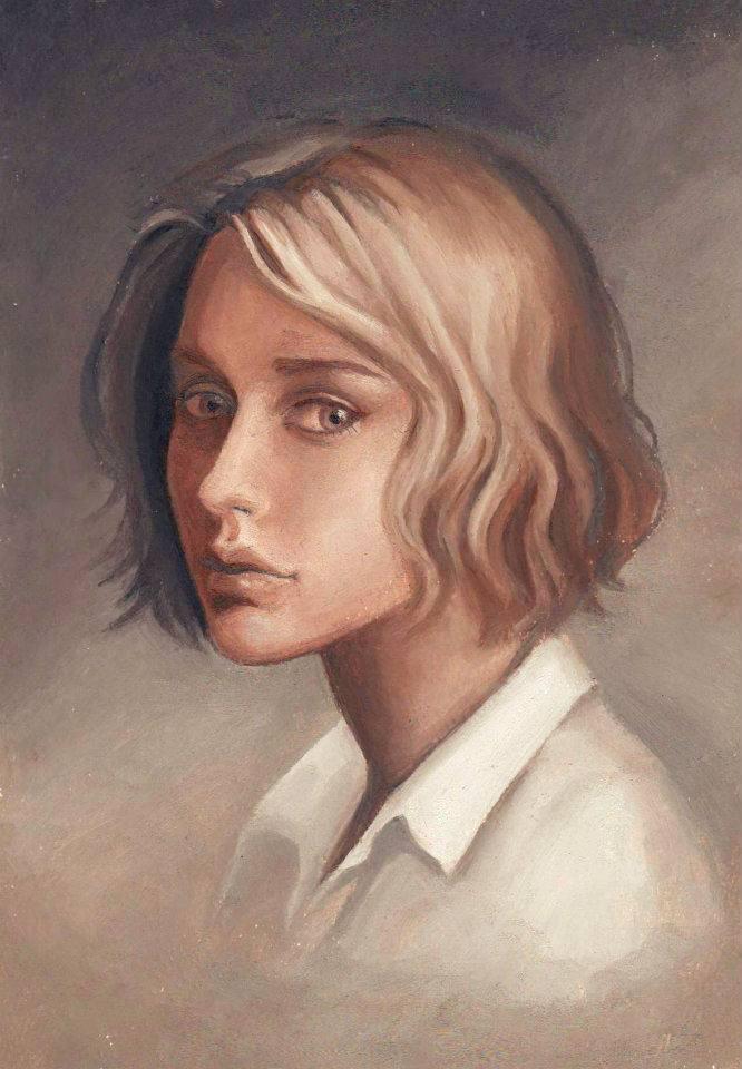 Oil painting practice by LavenderStuff