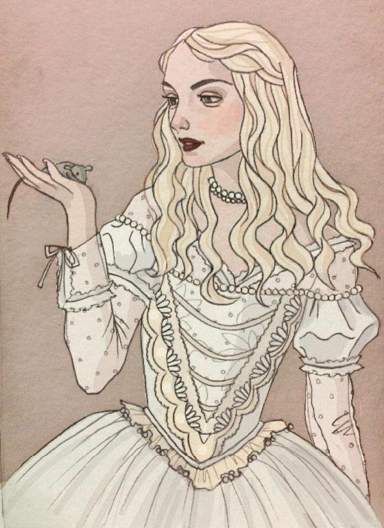 White Queen by LavenderStuff