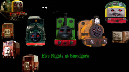 Five Nights At Smudger Series Poster by megahedgehogx