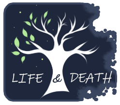 Life and Death :Achievement Badge August 2018: by Wolf-SiSi