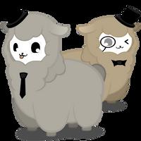 2 Fancy Alpacas by Myahster