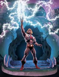 He-Man Transformation by Santalux