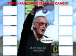 Top 10 Favourite Stan Lee Cameos BLANK by MunkTransformerLover