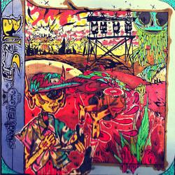 Chunky Melk. UGLYBROADS EP Art. by mr-insomnia777