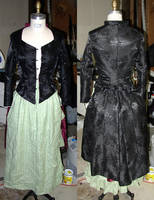 Victorian Tailcoat: Halloween by kissedbyfyre