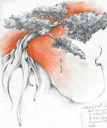 Bonsai Tree by kissedbyfyre