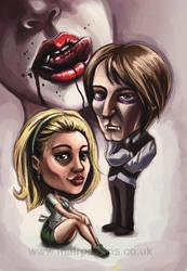 True Blood Fan Art by tifachan