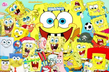 SpongeBob Squarepants Wallpaper (my version) by sethmendozaDA