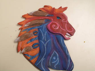 Tribal Bronco by LuckyBonecutter