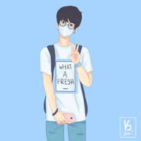 Blue Jin by sesedesu