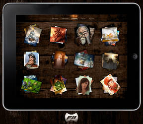 Skinned iPad Photos by fantasy-apps