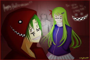 :: A Matryoshka Halloween :: by vikifanatic
