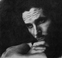 'Christian Bale' by Xaydes