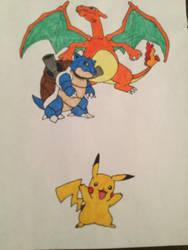 My Favorite Pokemon by AlexCarretero