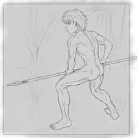 Jungle Boy. Memories 2. by GonZZoArt