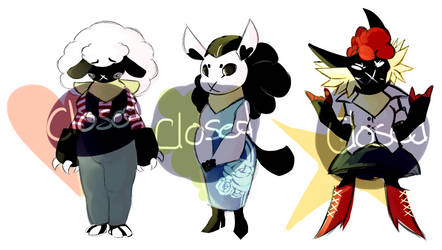 CLOSED: Sheep Sister Adopts by MaraschinoPulp