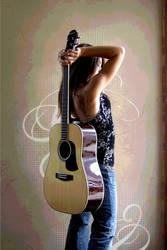 Guitar's vibrations by PunkRockPrinc3ss