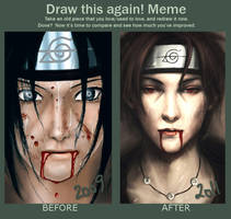 Meme: Before and After by DaenirArt