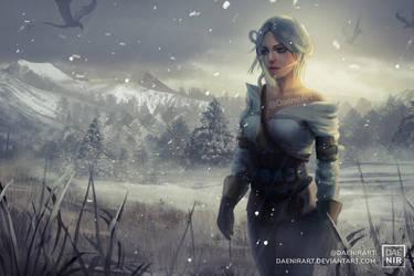 FA Ciri by DaenirArt