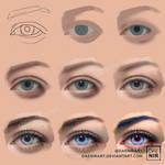 Eye steps by DaenirArt