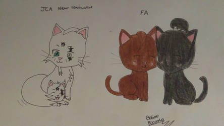 Dessin chat by Arly-Chan