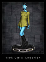 Trek Gals: Andorian by Kaernen