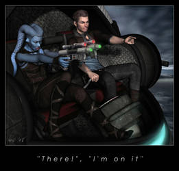 'There', 'I'm on it' by Kaernen