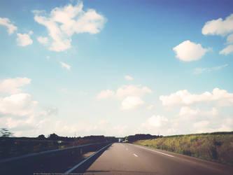 highway wallpaper by dendoona