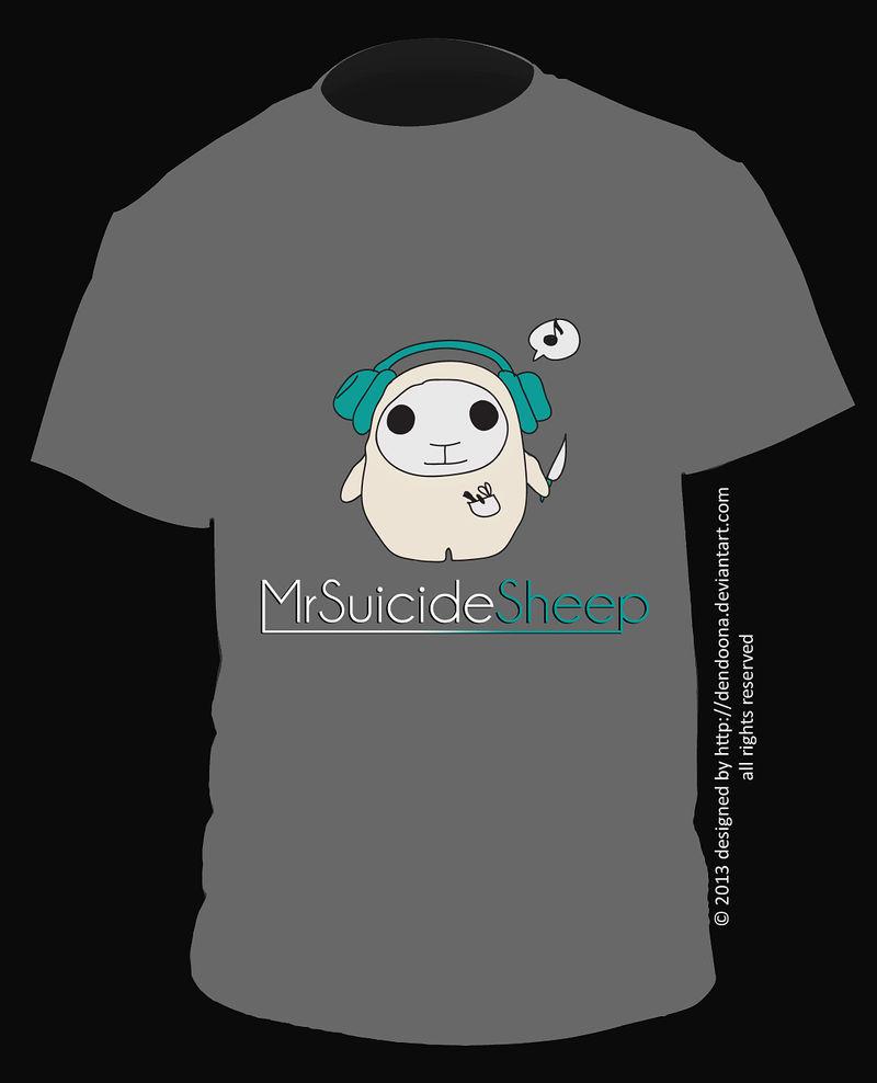 MrSuicideSheep Tshirt by dendoona