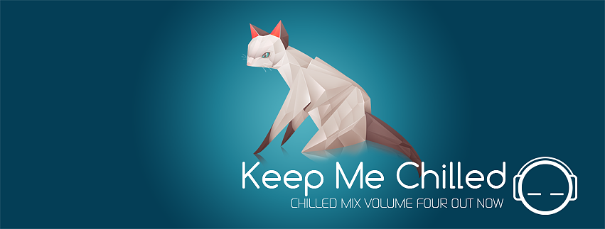 Cat origami design for Keepmechilled by dendoona