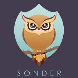 Sonder Logo Vector Owl by dendoona