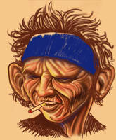 1.Keith Richards by EZG