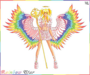 Rainbow star by pleroo