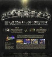 Webdesign Final Fantasy by I-Mega-I