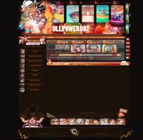Webdesign Fullpowerdbz by I-Mega-I