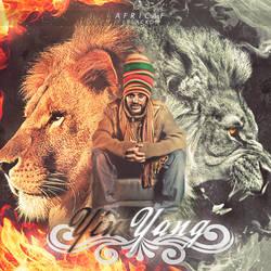 Covers Yin Yang Africaf ( Blacko ) by I-Mega-I