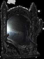 Dragon Mirror 001 - Clear Cut by Travail-de-lame