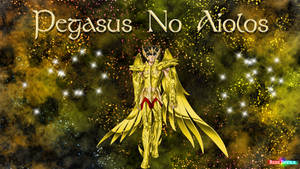 Pegasus divine Gold no Aiolos by redsdevils