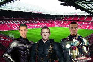 Super heroes Manchester United by redsdevils