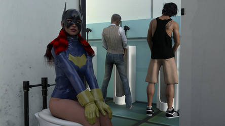 Batgirl's Rest Stop by MickLee99