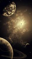 Space in Sepia by Siegfried-Loki