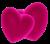 2 soft hearts