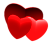 Tiny Red Hearts - Free to use by Undead-Academy