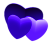 Purple Hearts - Free to use