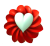 Heart Flower Emote - Free to use by Undead-Academy