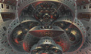 Spherical Menger by Undead-Academy