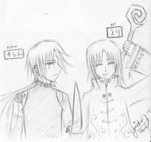 Kishin and Eri by yOnEkurA91