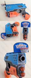 Linsanity New York Knicks Nerf pistol mod by GirlyGamerAU