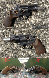 Gun of Souls Souleater pistol mod Cthulhu inspired by GirlyGamerAU